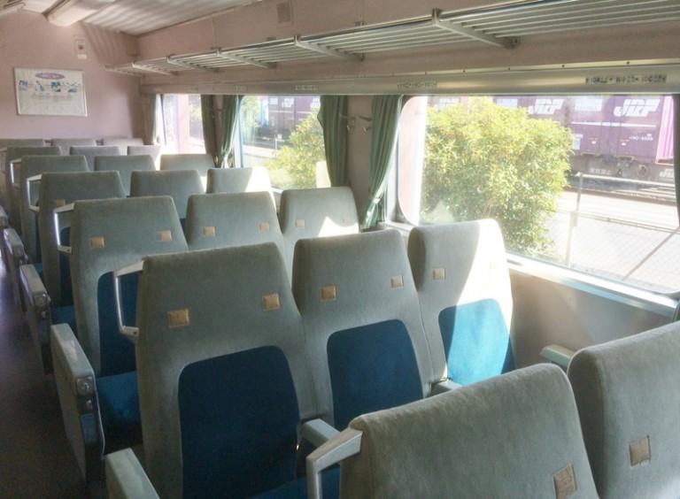新幹線 3列シート