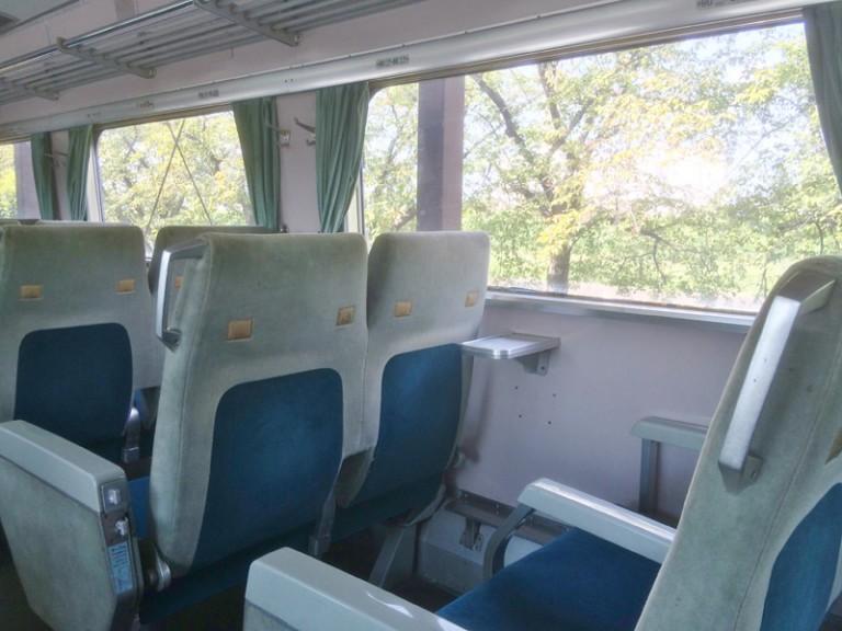新幹線 2列シート