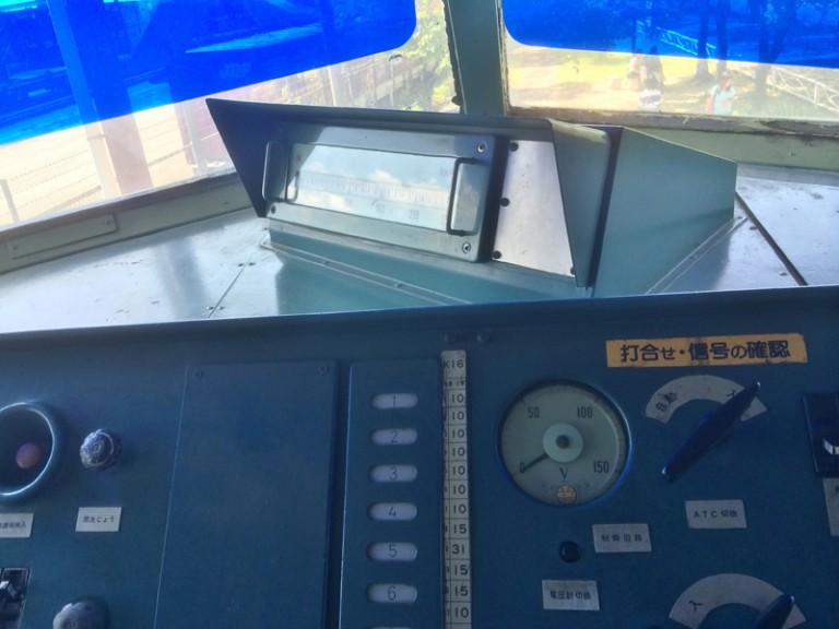 0系新幹線 運転席からの車窓