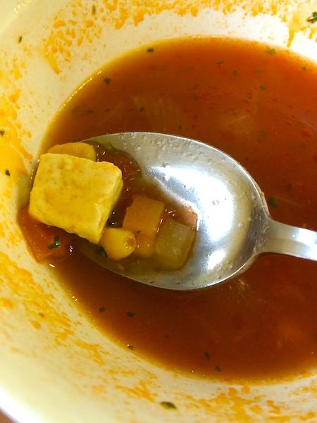 摂津市役所 食堂 トマトスープ