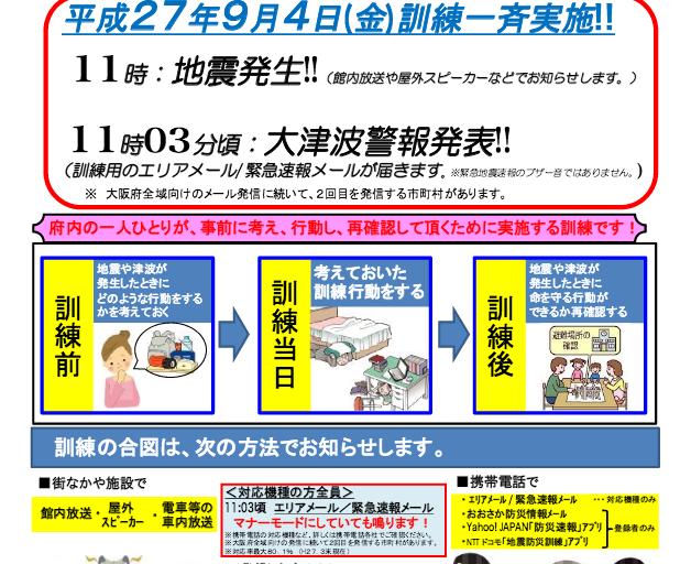 大阪880万人訓練3