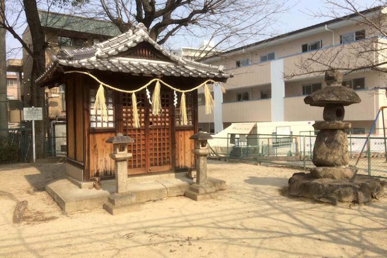 素盞鳴尊神社 本殿