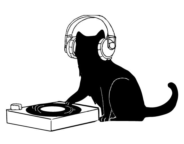 黒猫 DJ