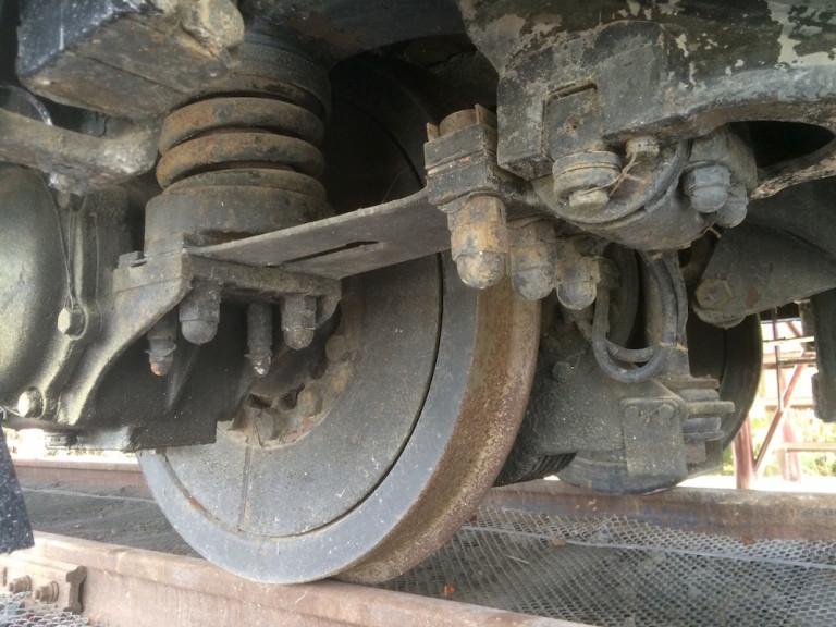 0系 車輪