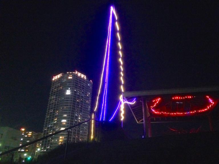 摂津ルミナリエ パークタワー