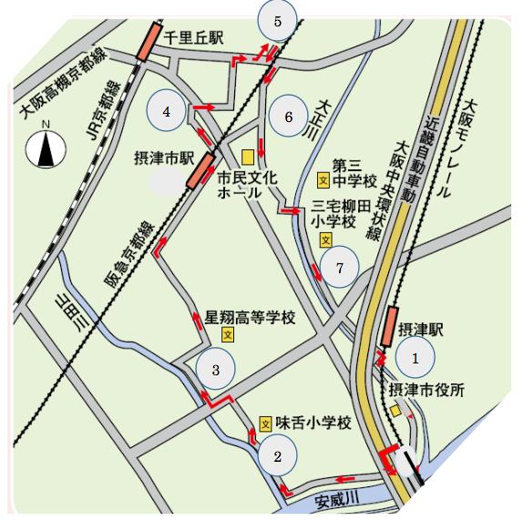 うきうき街道 古戦場コース