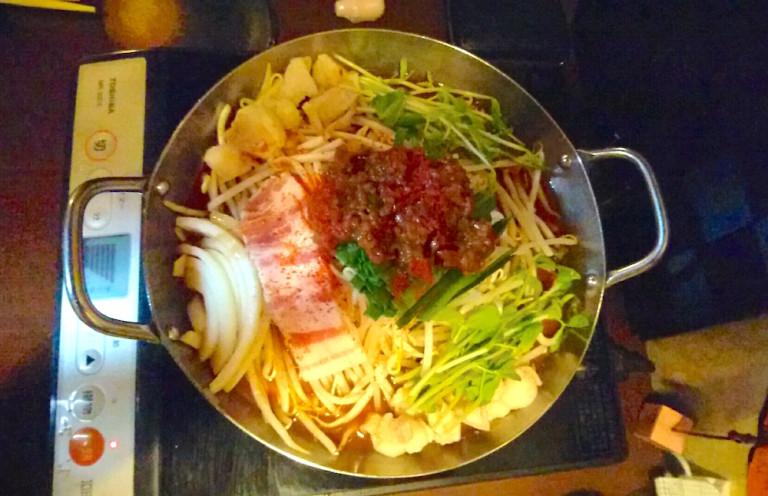 特製もつ鍋【赤のスープ】