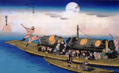 三十石船 過書船