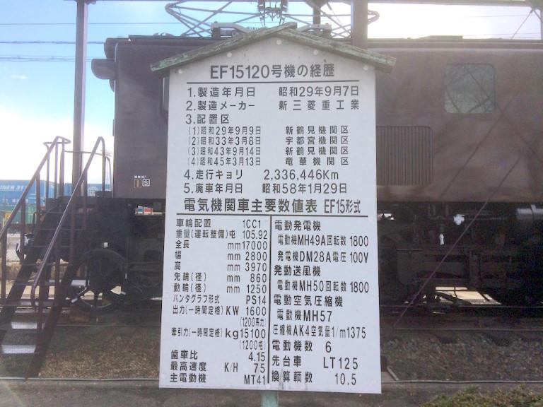 電気機関車 経歴