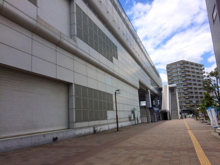 モノレール南摂津駅