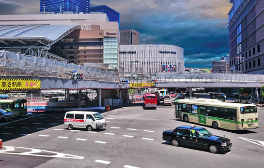JR大阪駅周辺