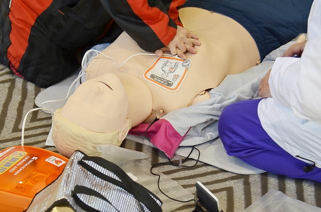 救命処置訓練