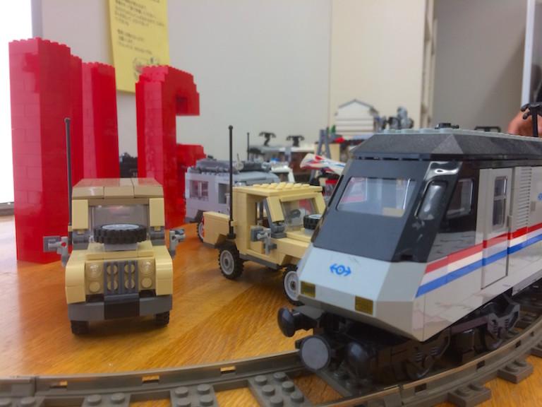 レゴ 電車