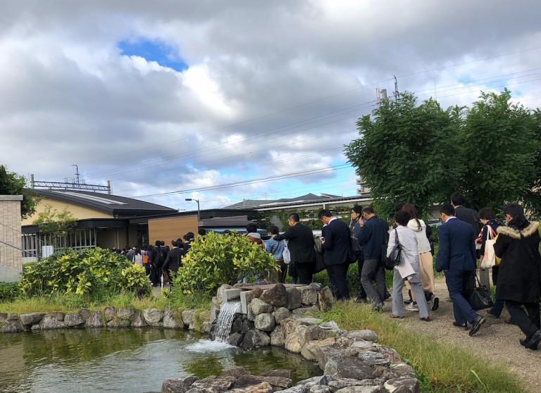 摂津市駅 渋滞
