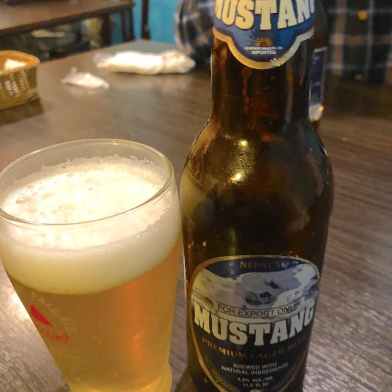 ネパールビール ムスタング