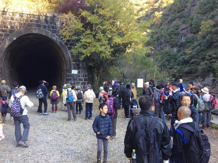 福知山線廃線跡を巡るコース