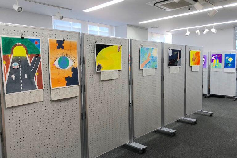 摂津高校 美術