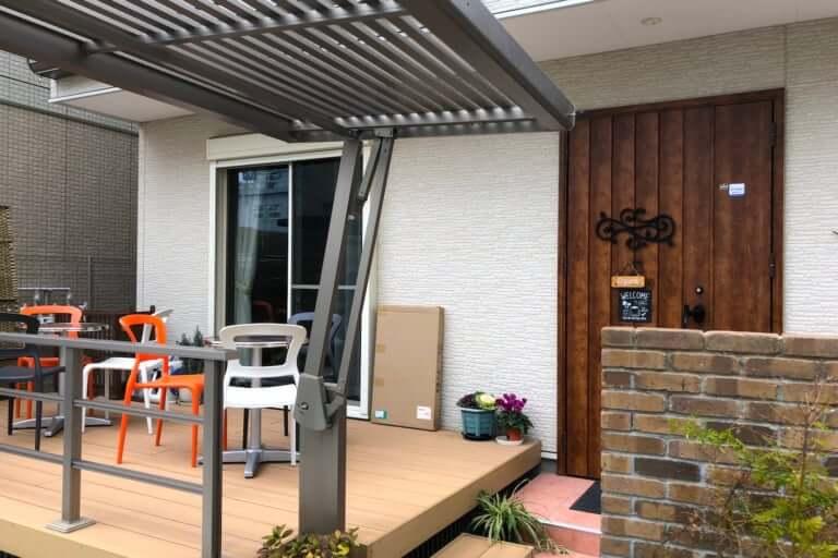 【摂津市】正雀の住宅地の路地奥にお家カフェ発見!「Cafe Ran」軽自動車は通れそう!