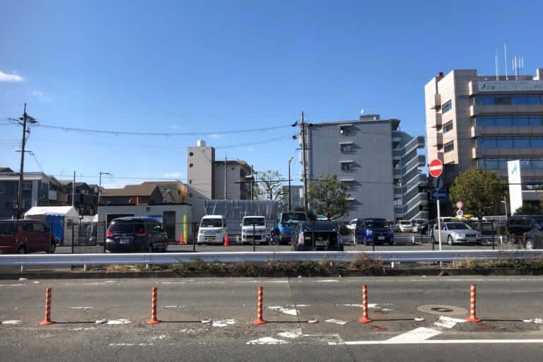 【摂津市】摂津市立温水プール前の駐車場が3月24日に閉鎖されます