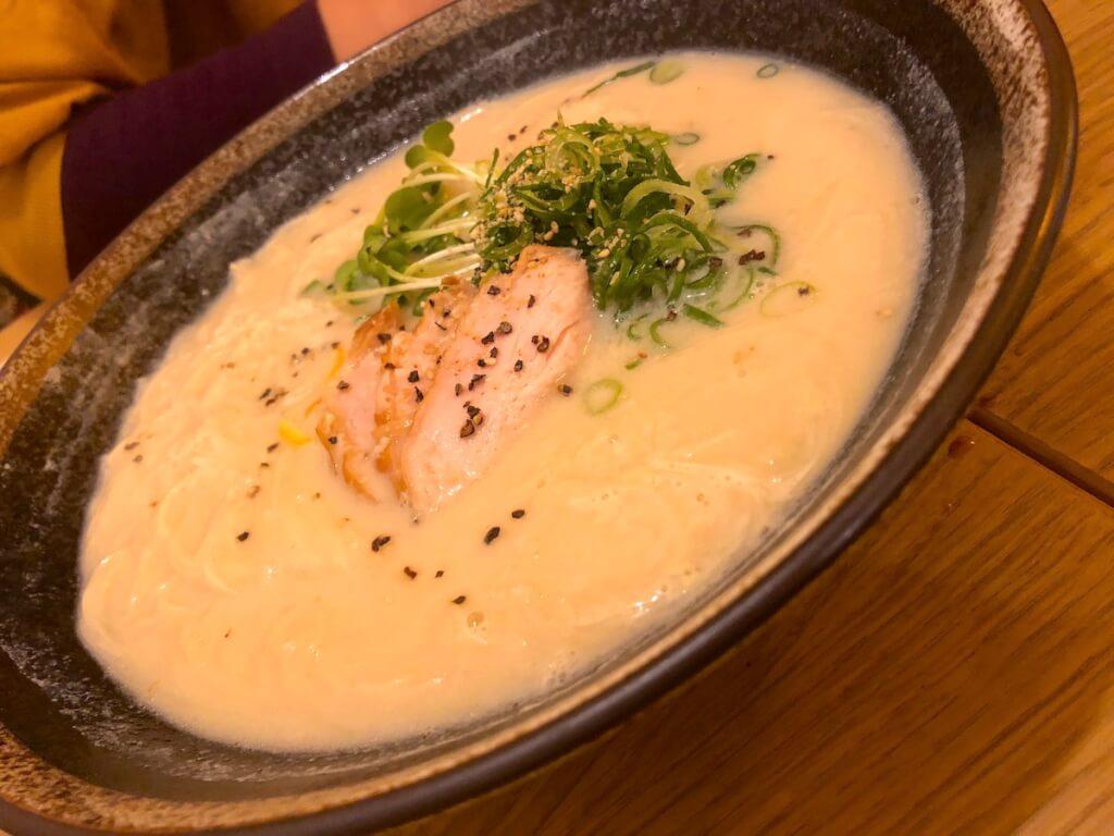 豆にゅう麺
