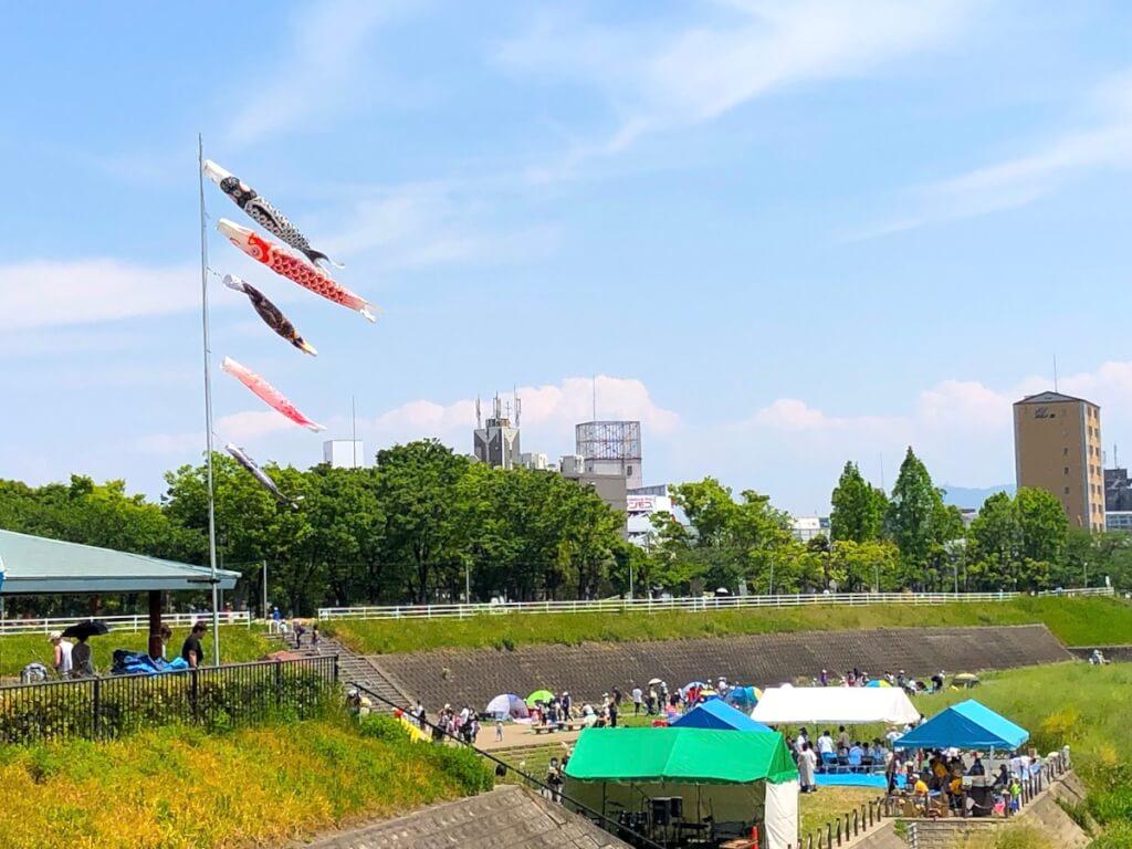 大正川河川敷公園