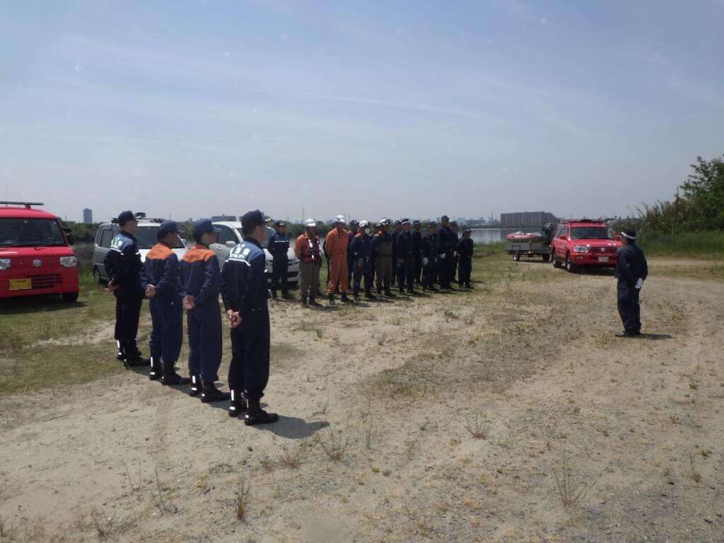 合同水難救助訓練