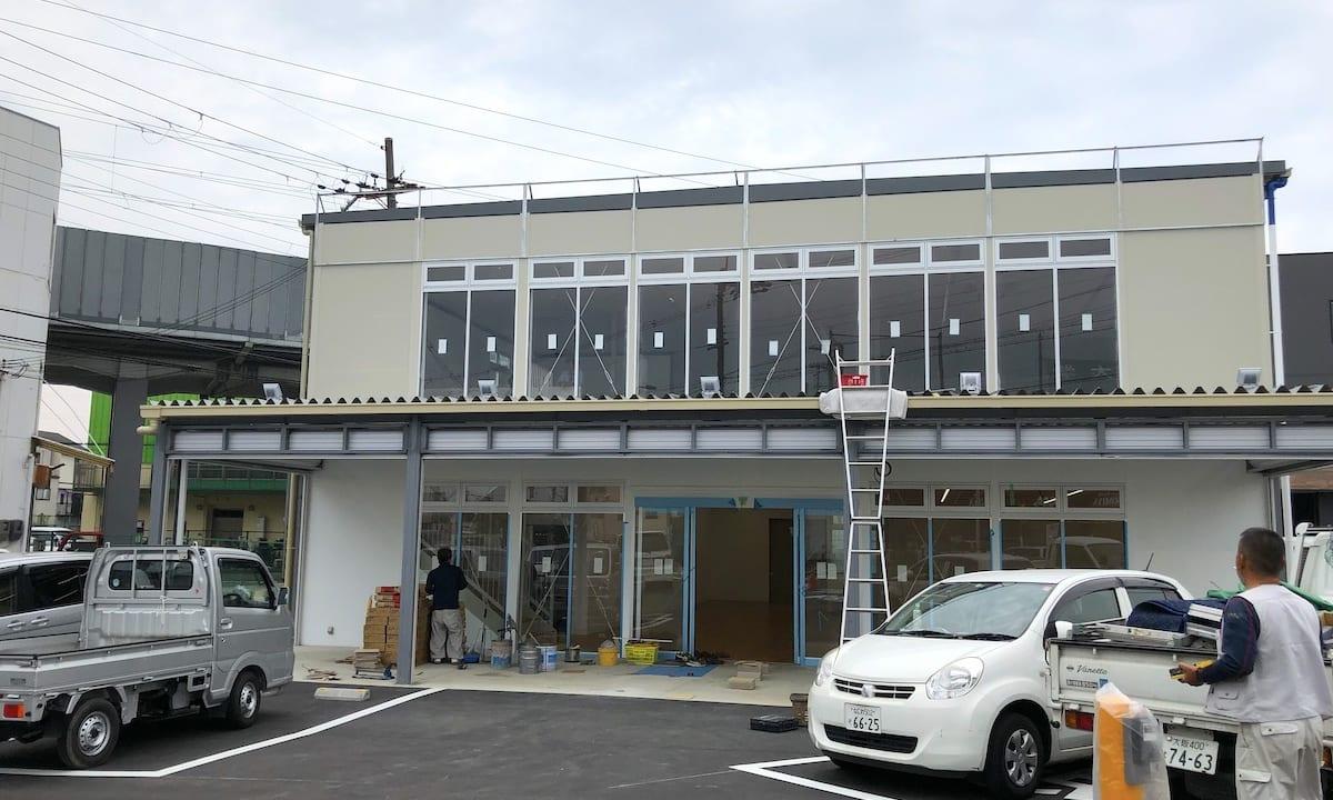 【摂津市】コノミヤ摂津店の向かい側に工事中の建物は9月20日オープン♪