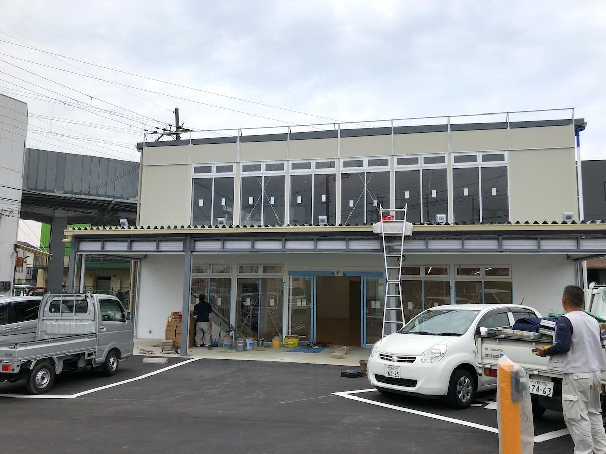 ダイワサイクル摂津店 工事中