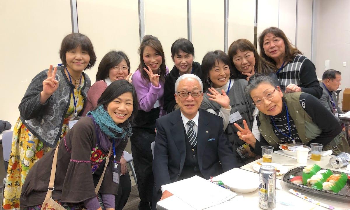摂津市長と記念撮影